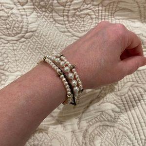 Pearl Fashion Bracelet Bundle-Set of Four